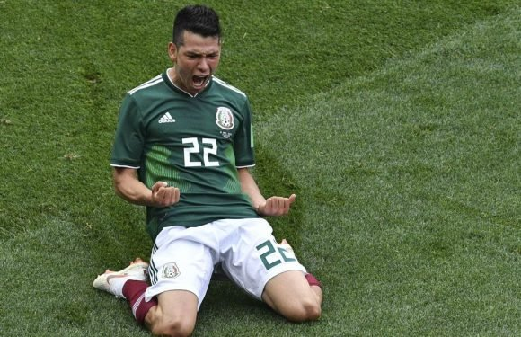 Hirving Lozano transfer to Man United gathers pace with £35.4m bid imminent