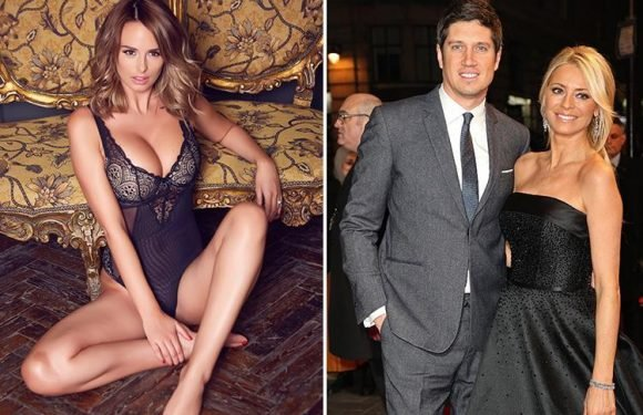 Rhian Sugden apologises for sexting 'fling' with Vernon Kay and says to his wife Tess Daly: 'I'm sorry for the hurt'