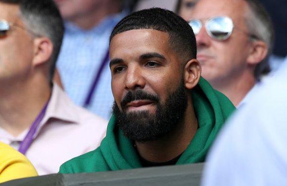 Drake spotted supporting 'secret ex-girlfriend' Serena Williams at Wimbledon