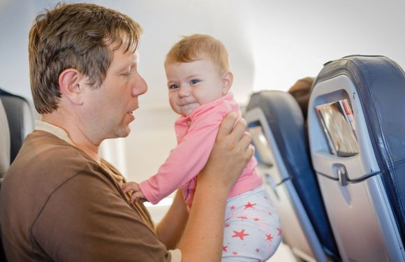 Mums and dads share advice for new parents flying with a baby for the first time