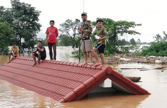 Hydroelectric dam collapse in Laos leaves several dead, hundreds missing