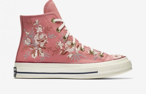 These Floral Converse Are Actually The Most Gorgeous Sneakers You Will Ever See