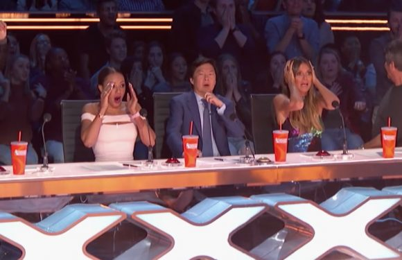 'America's Got Talent' 5th Judge: A Trapeze Artist Slips in Scary Fall and Heidi Klum Risks an Arrow Through the Head