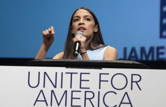 Ocasio-Cortez hits the campaign trail for other Dems