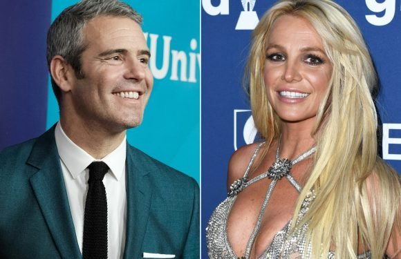 Andy Cohen completely loses it over Britney Spears