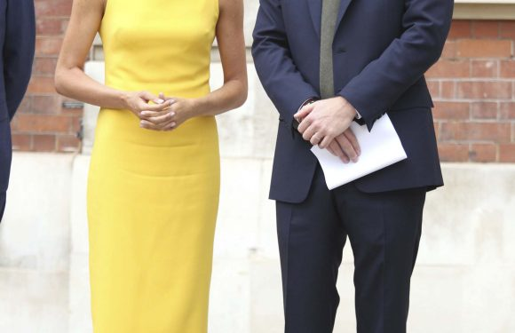 Not So Mellow Yellow! Meghan Markle Goes Form-Fitting in Rare Sleeveless Dress Moment – and Brings Back Her Bun!
