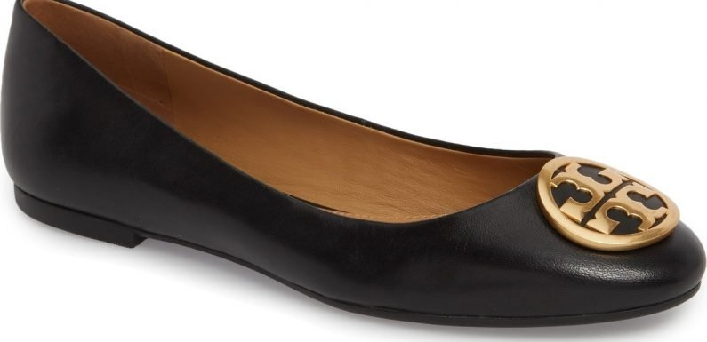 You Know Those Iconic Tory Burch Flats? They're on Sale at Nordstrom
