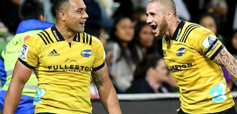 Laumape bags four tries as Hurricanes edge closer to home quarter-final