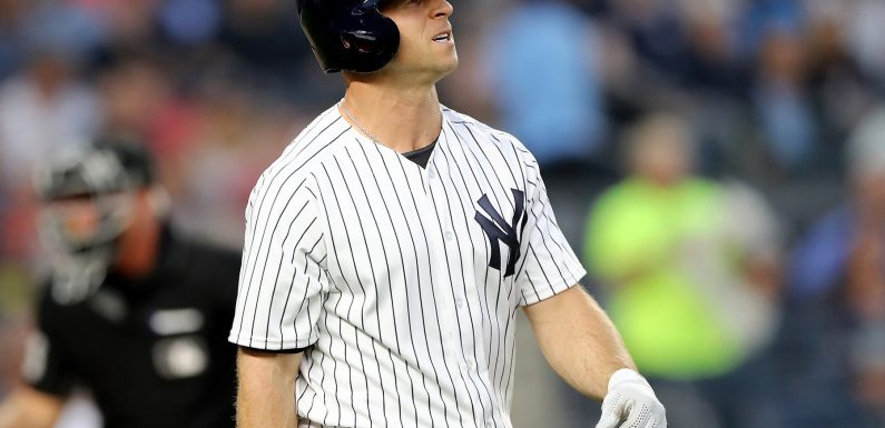 Brett Gardner fined for playing too slowly