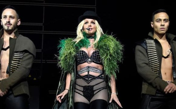 Britney Spears Suffered a Major Wardrobe Malfunction and Freed the Nipple During a Recent Concert