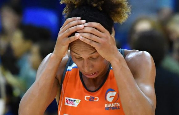 Giants thrash Adelaide Thunderbirds in front of record AIS crowd