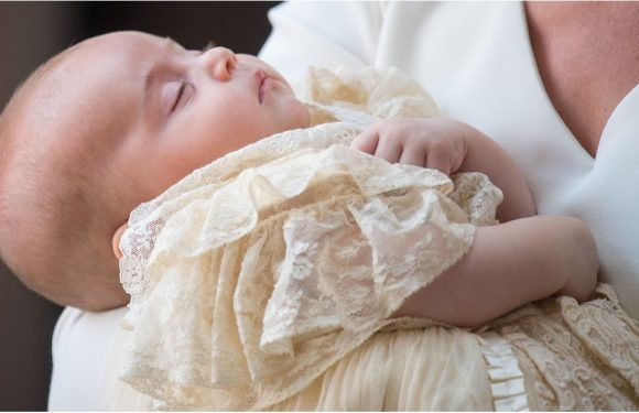 Prince Louis Was Passed the Eff Out at His Own Christening, Which Is, Honestly, Pretty Impressive