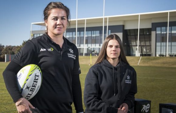 Sammie Wood picks rugby as University of Canberra launches series