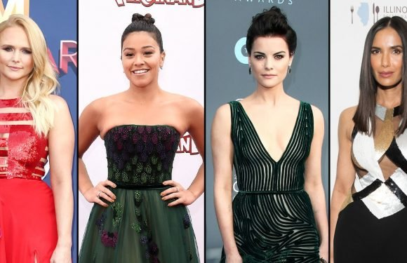 Celebs in Georges Chakra Dresses: Gina Rodriguez, More