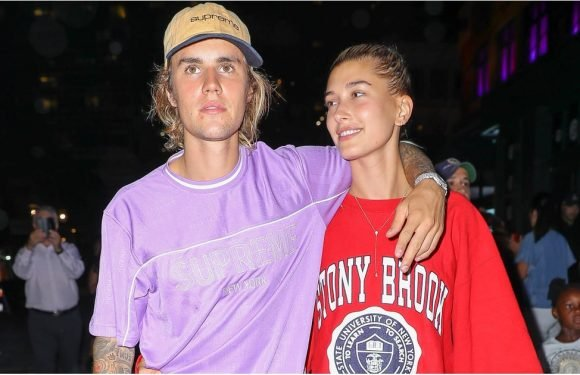 Justin Bieber and Hailey Baldwin Look Cute, but It's Her Sneakers That Have Our Full Attention