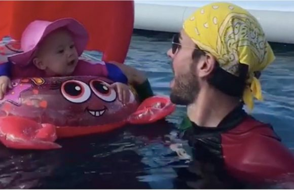 Enrique Iglesias and Anna Kournikova's Twins Will Melt Your Heart in a Matter of Seconds