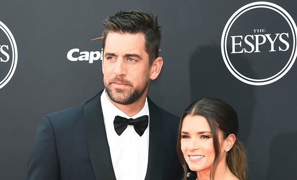 Aaron Rogers Sweetly Supports Danica Patrick At ESPYS: Joins Her On Red Carpet