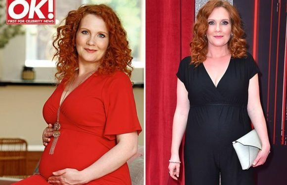 Pregnant Jennie McAlpine reveals she loves giving birth and can't wait to go through labour again