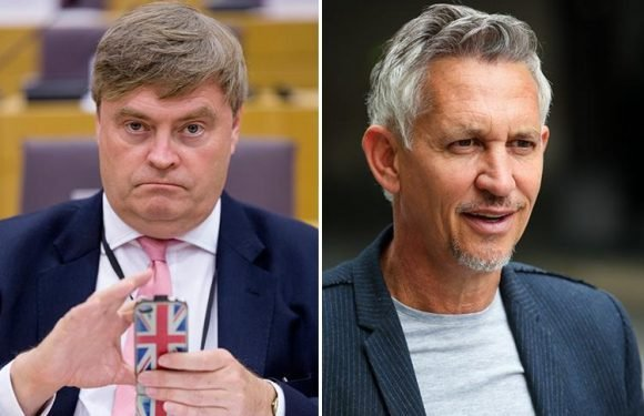 MEP hints Gary Lineker should be tried for treason for being pro EU