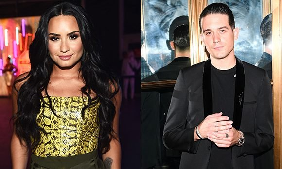 Demi Lovato Spotted Holding Hands With Mystery Man At The Club — Is It G-Eazy?