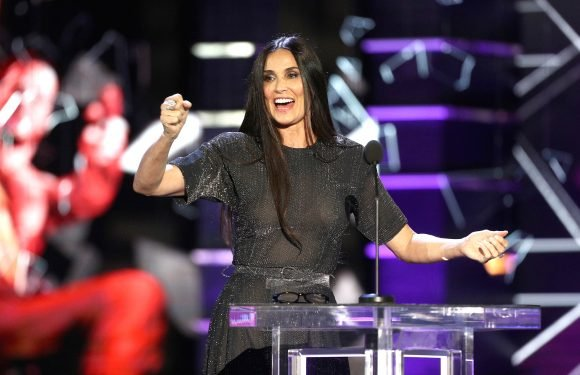 Surprise! Demi Moore Hilariously Roasts Ex-Husband Bruce Willis About Diapers, Die Hard & More