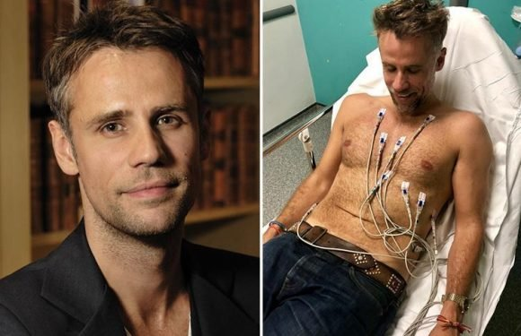 Richard Bacon placed in medically induced coma after being struck down by a mystery virus
