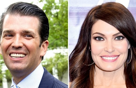 Donald Trump Jr., Kimberly Guilfoyle Kiss at France Party