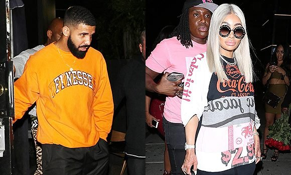 Drake Spotted Leaving The Club With Blac Chyna — Are They Dating?
