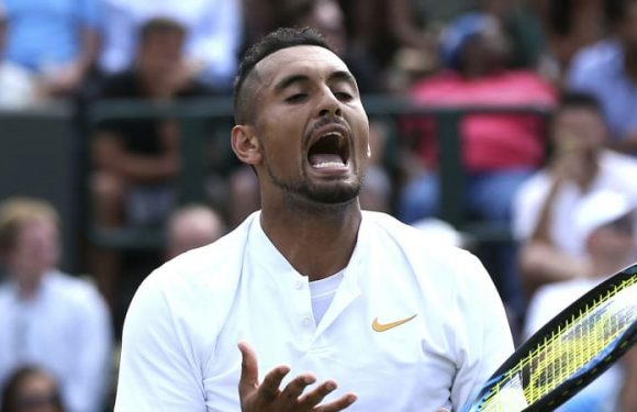 Nick Kyrgios booed off court after retiring from Atlanta Open with injury