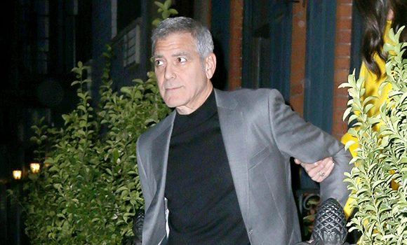 George Clooney: 1st Video Of Horrific Moment Car Slammed Into His Scooter & Flung Him Into Air