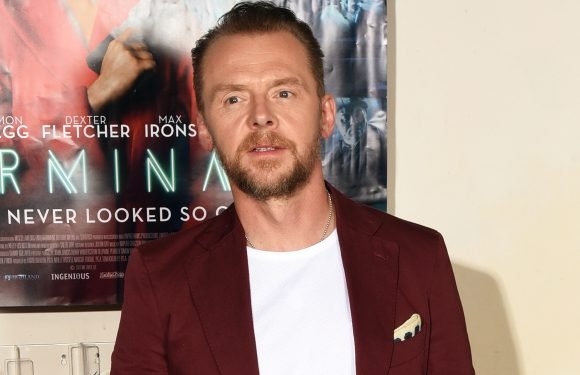 Simon Pegg opens up about his struggle with alcoholism