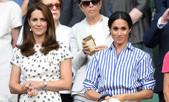Meghan Markle and Kate Middleton Support Serena Williams After Her Wimbledon Loss