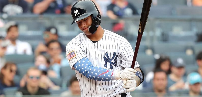 Yankees pull Gleyber Torres early and injury concern returns