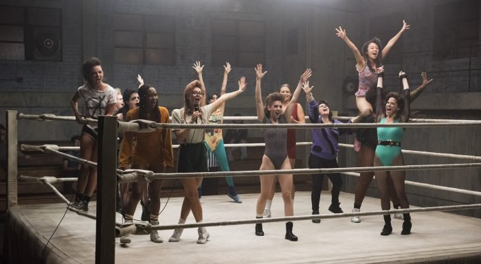 'GLOW' Creators on Emmy Nominations, Power of 'Seeing 14 Women in a Frame'