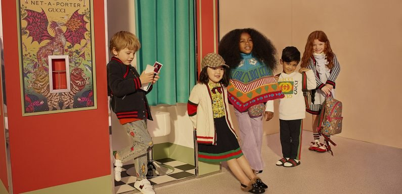 Don't Miss Your Chance To Shop The Cutest Gucci Kidswear On Net-A-Porter