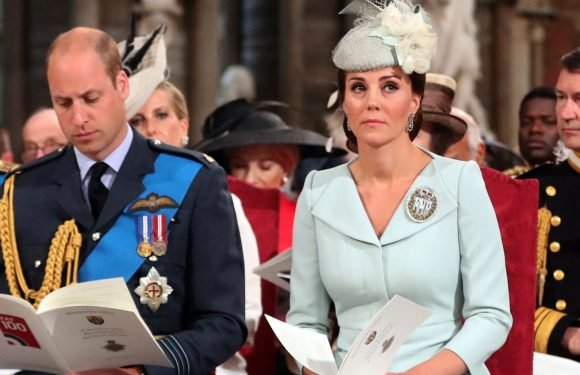 Kate Middleton Caught Prince William Laughing in a Church Service and It Was the Cutest Thing Ever