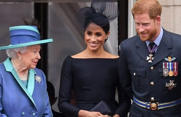 Meghan Markle Just Bonded with the Queen and Her Royal In-Laws on the Buckingham Palace Balcony
