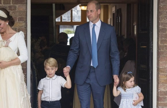 Prince William Had the Most Adorable Dad Moment at Prince Louis' Christening