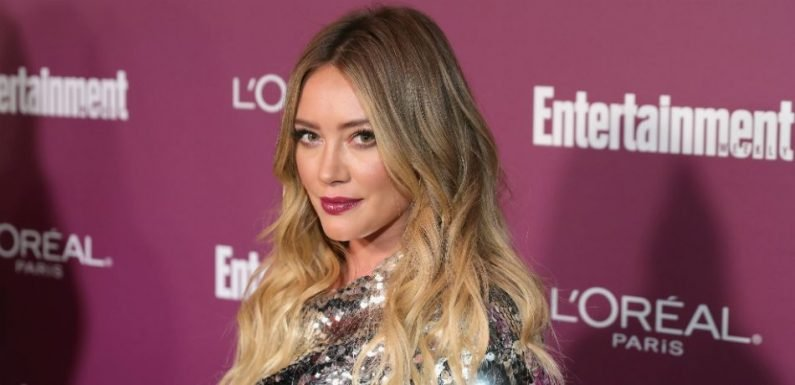 Hilary Duff And Boyfriend Matthew Koma Jokingly Engage In Baby Bump Competition In Elevator