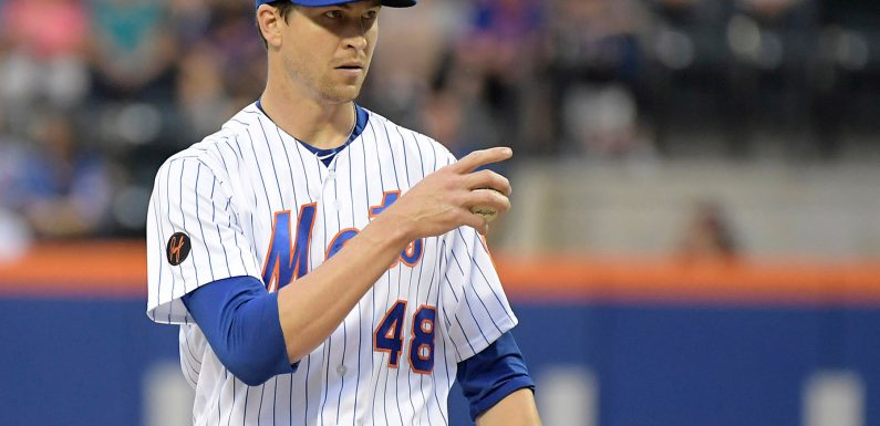 Jacob deGrom named the Mets' only All-Star