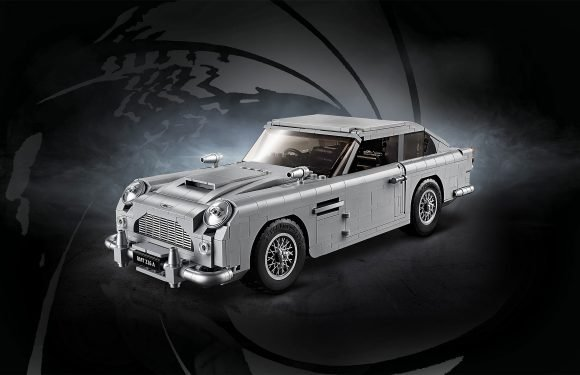 You Can Now Make Your Own James Bond Aston Martin Car Out of Legos — And It's Tricked Out!