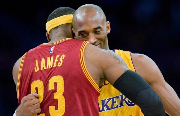 Kobe Bryant got a call before passing torch to LeBron James
