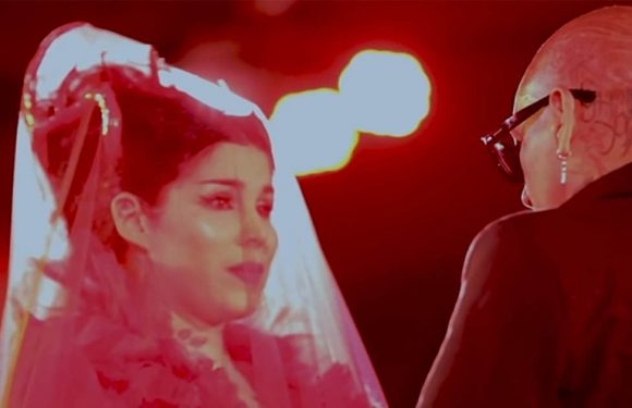 Kat Von D Releases Wedding Video: Vows, Red Latex Contortionists and Her Musical Performance