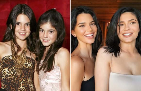 Kendall Jenner Pokes Fun at Her and Kylie Jenner's Transformation Since Season 1 of KUWTK