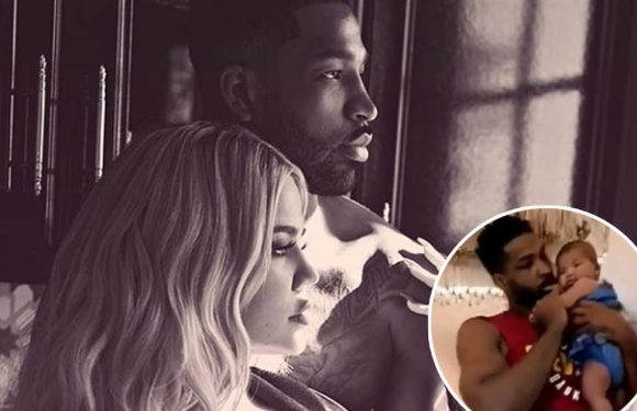 Khloe Kardashian Shares First Video of Tristan Thompson and Baby True