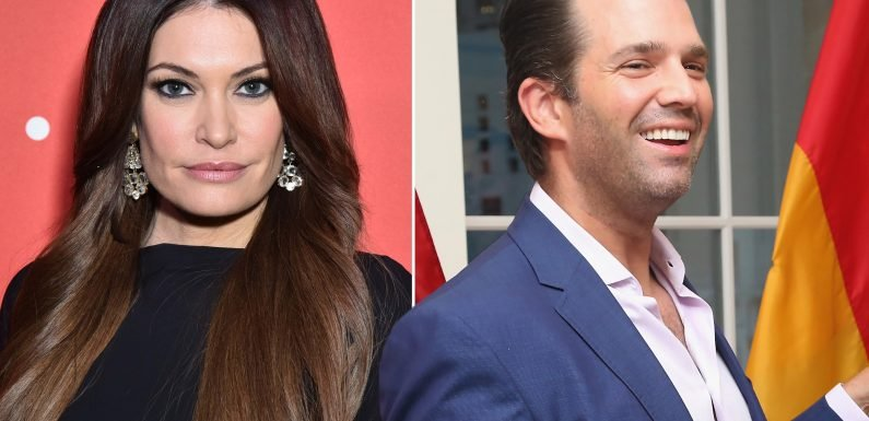 Donald Trump Jr. takes Kimberly Guilfoyle to meet the president