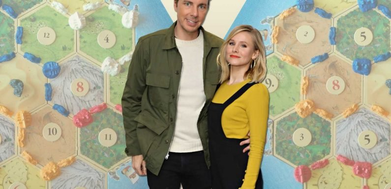 Dax Shepard Jokingly Calls Wife Kristen Bell 'Bats— Crazy' for Wearing Gloves in the Pool