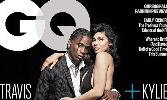 Kylie Jenner Straddles Travis Scott In Sexy First Magazine Cover Together As A Couple