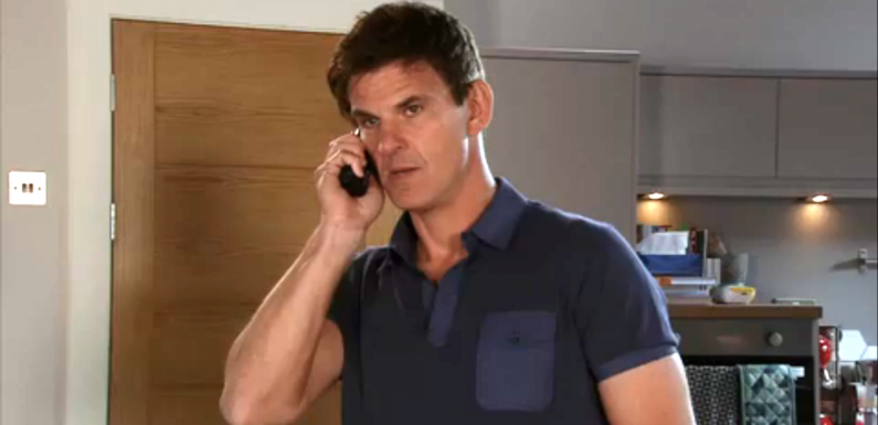 Coronation Street star Tristan Gemmill reveals why he stopped dyeing his hair