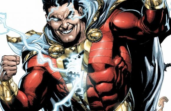 Here's the first official look at Zachary Levi as Shazam!